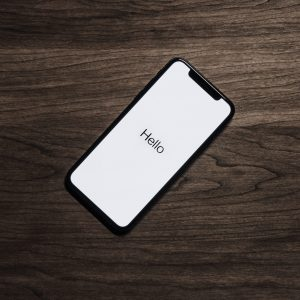 Canva - Black Iphone 7 on Brown Table